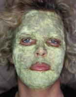 masque de poudre après peeling phénol