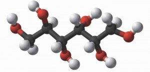 la molécule de Sorbitol