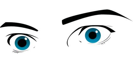 Contour des yeux