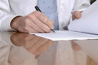 Signature de charte