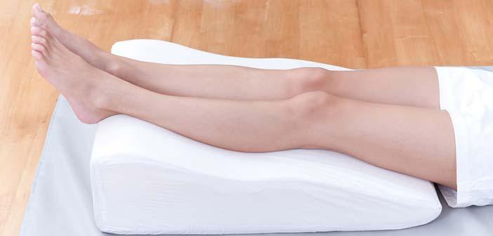 jambes sur-élevées