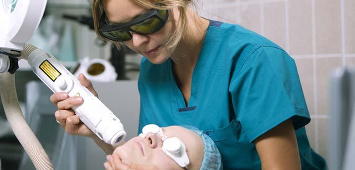 traitement des rides du visage au laser