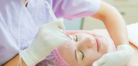 micro-dermabrasion du visage