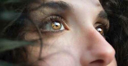 nez de femme de profil