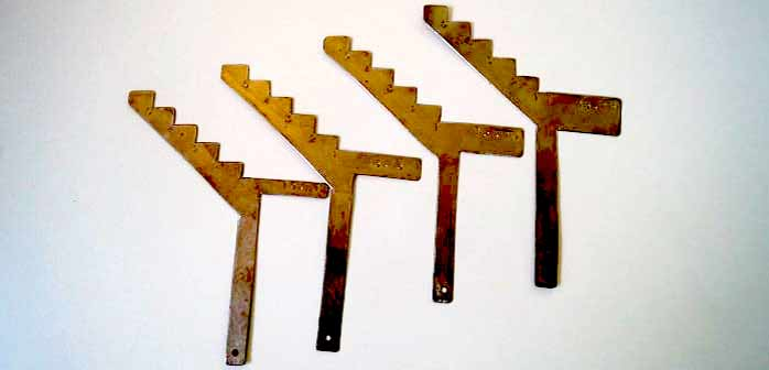 Une règle standardisée pour placer des fils tenseurs